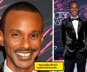 90s singer Tevin Campbell at Soul Train Awards...looks different
